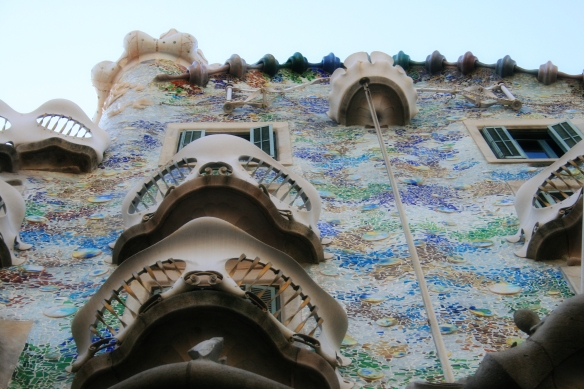 barcelona: gaudi by day, party by night |
