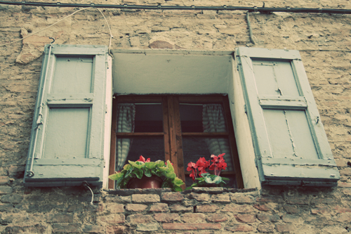 window in siena